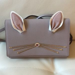 New Kate Spade Hop To It Bunny Purse or Clutch